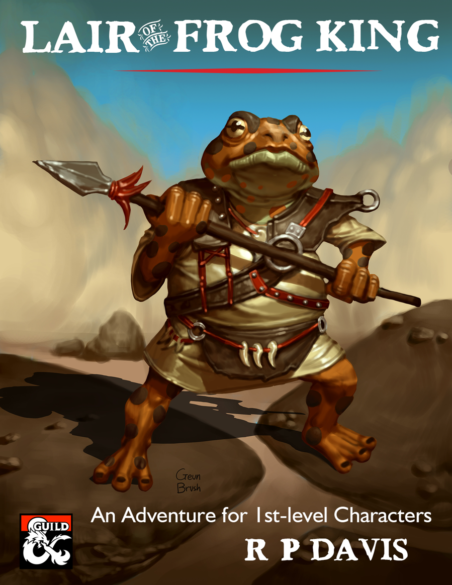 Cover of Lair of the Frog King