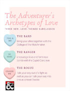 The Adventurer's Archetypes of Love