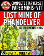 Basic Set Paper Miniatures: Lost Mines of Phandelver