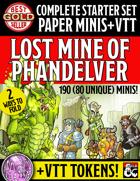 Starter Set Paper Miniatures: Lost Mines of Phandelver