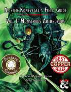 Alister Konezegel's Field Guide Volume I: Monstrous Arthropods (Fantasy Grounds)