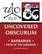 BARBARIAN Path of the Shed Skin (5e)