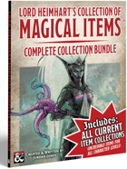 Lord Heimhart's Collection of Magical Items - Bundle 1 [BUNDLE]