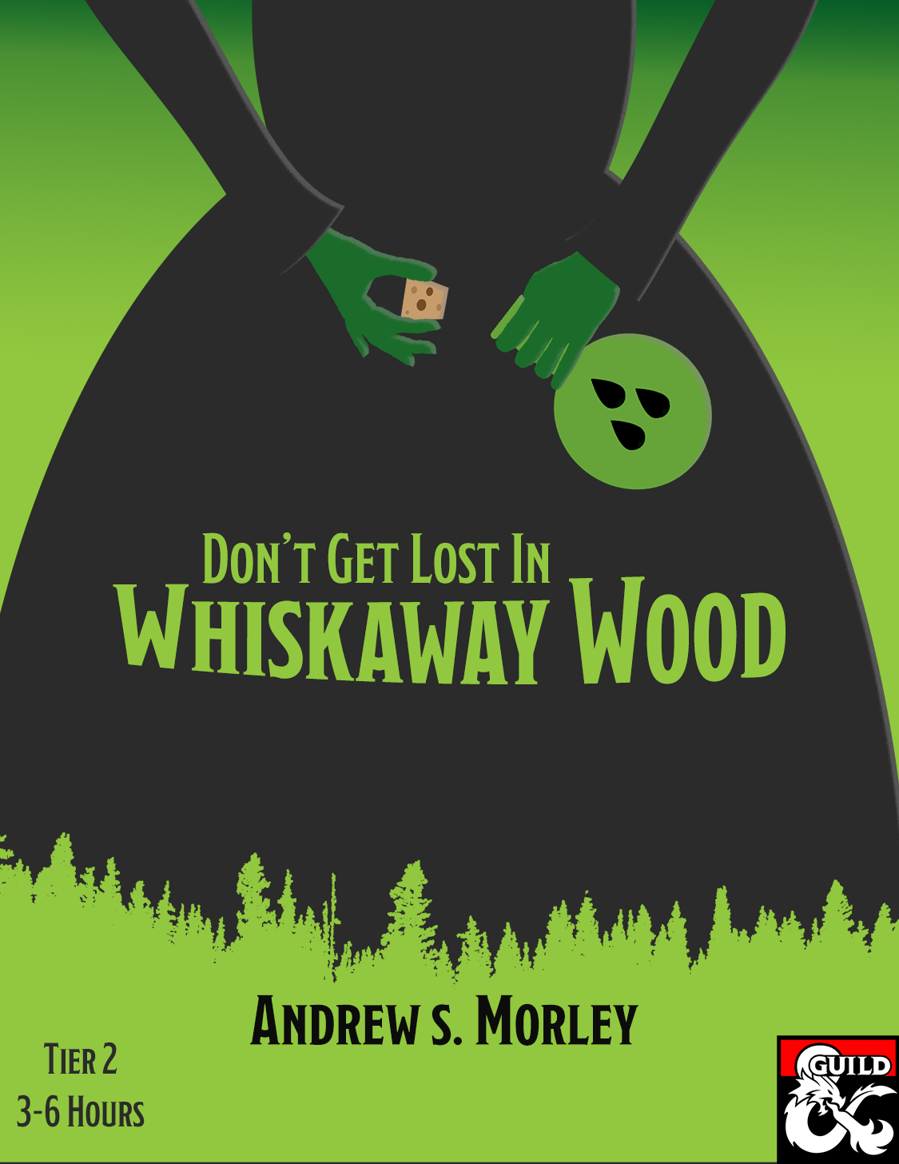 Cover of Don't Get Lost in Whiskaway Wood