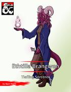 Pregen Character: Ethtilla Brangwen, the Tiefling Sorcerer