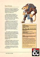 New Monster: Rat-Ogre