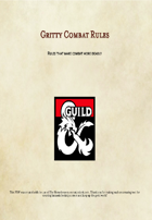 Gritty Combat Rules
