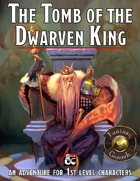 The Tomb of the Dwarven King (Fantasy Grounds)