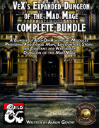 VeX's Complete Expanded Dungeon of the Mad Mage (PDF) [BUNDLE]