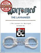 WARFORGED!: The Lawmaker - A New Subrace for Warforged