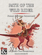 Path of the Wild Rider - Primal Path for Barbarians