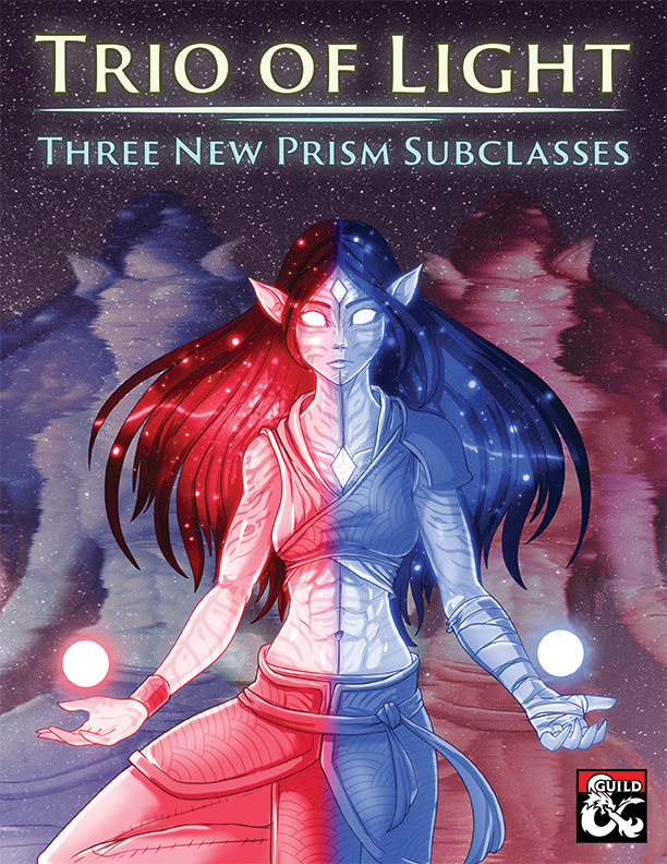 Three brand new subclasses for the unique magic-wielding class: the Prism!