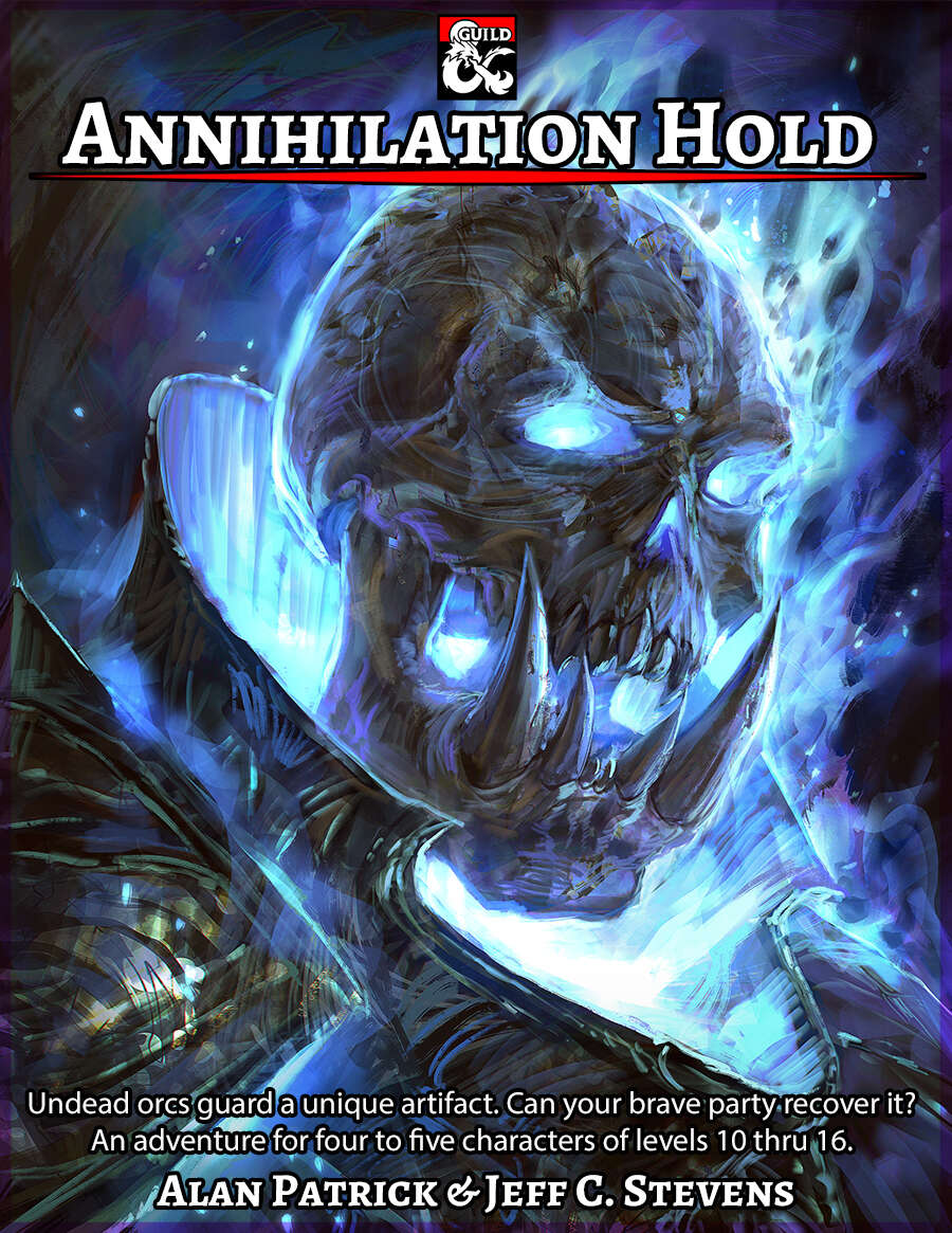 Cover of Annihilation Hold