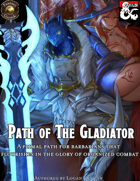 Somnus Domina - Path of The Gladiator (5e) (Fantasy Grounds)