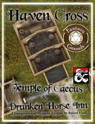 Haven Cross: The Temple of Caecus & The Drunken Horse Inn (Fantasy Grounds)