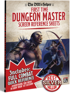 DMs Helper - First Time Dungeon Masters Screen Reference Sheets
