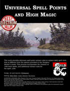 Universal Spell Points and High Magic