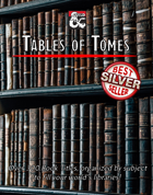 Tables of Tomes - Over 300 Book Titles to bring life to a Library!