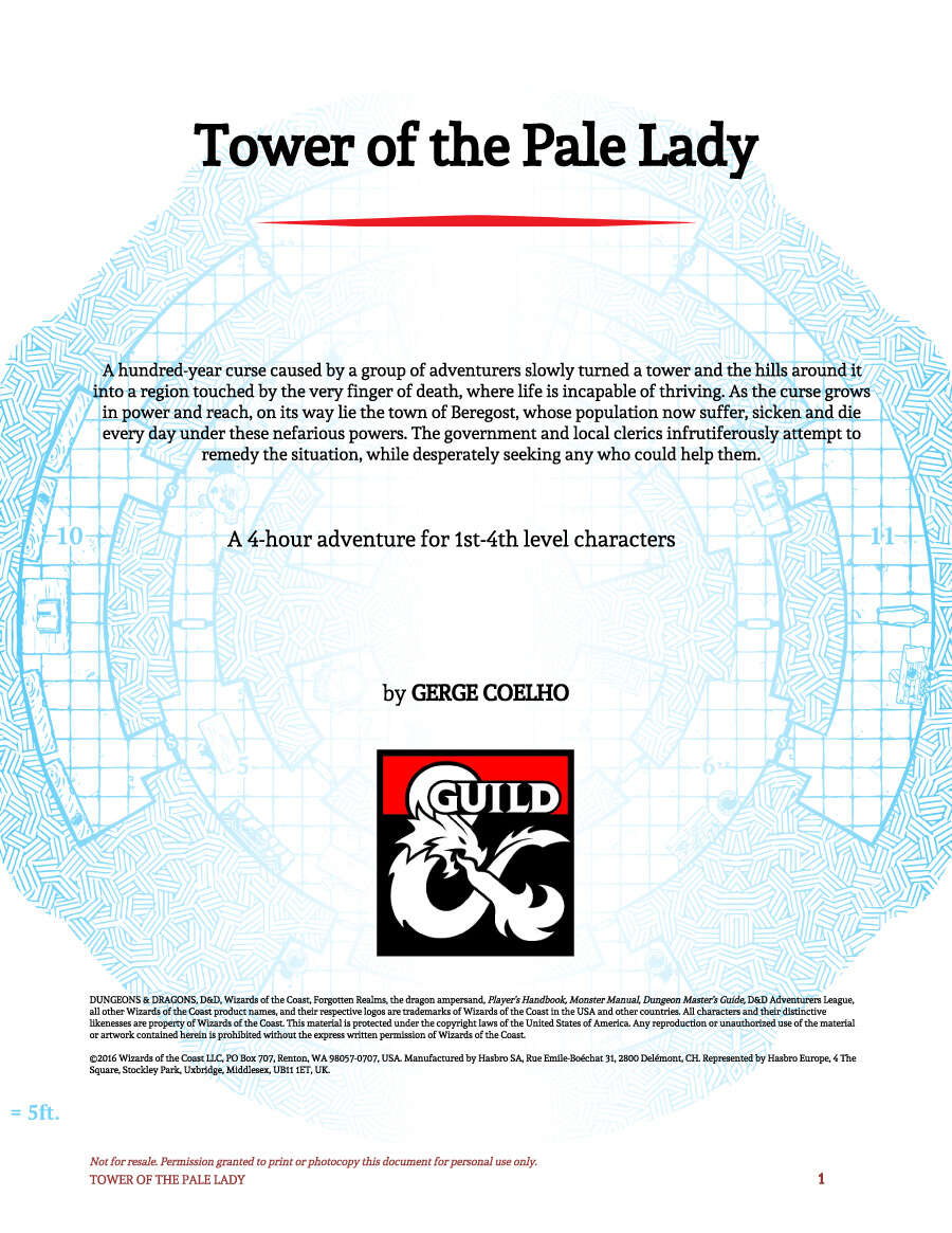 Cover of Tower of the Pale Lady