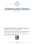 Morgenstern's guide to Abjuration