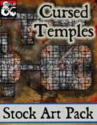 Cursed Temples - Stock Art Pack