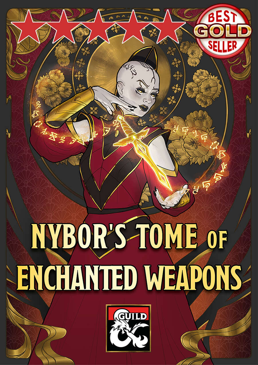 Nybor's Tome of Enchanted Weapons