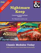 Classic Modules Today: FA2 Nightmare Keep (5e)