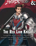 Somnus Domina - The Red Lion Knight (5e)