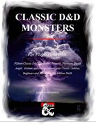 Classic D&D Monsters