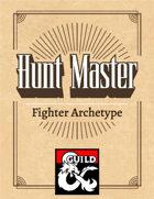 Fighter Archetype Hunt Master