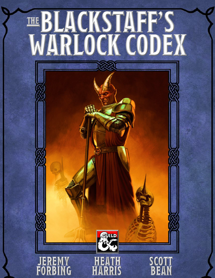 Cover of The Blackstaff's Warlock Codex