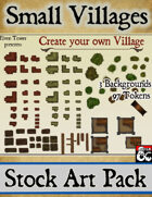 Small Villages - Stock Art Pack