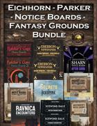 Eichhorn-Parker Fantasy Grounds Notice Boards Bundle [BUNDLE]