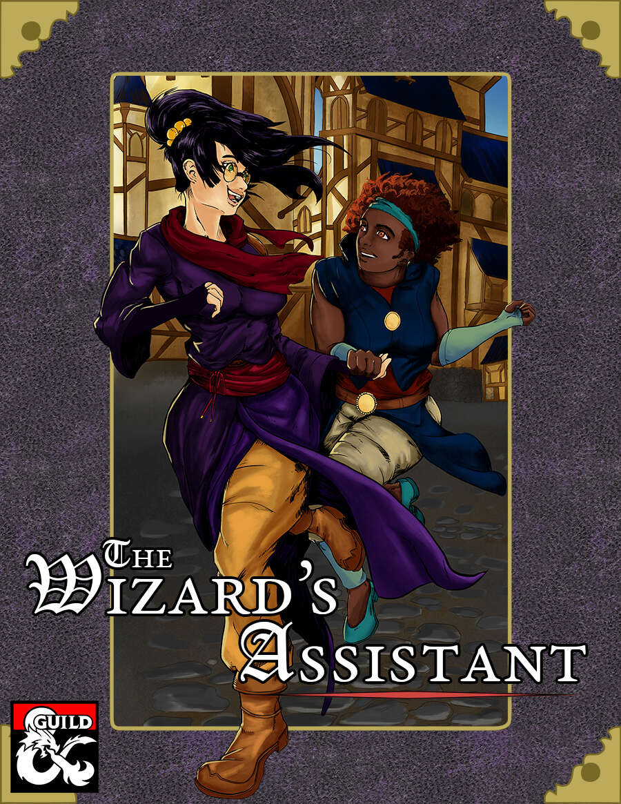 Cover of The Wizard's Assistant