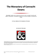 The Monastery of Connacht Downs