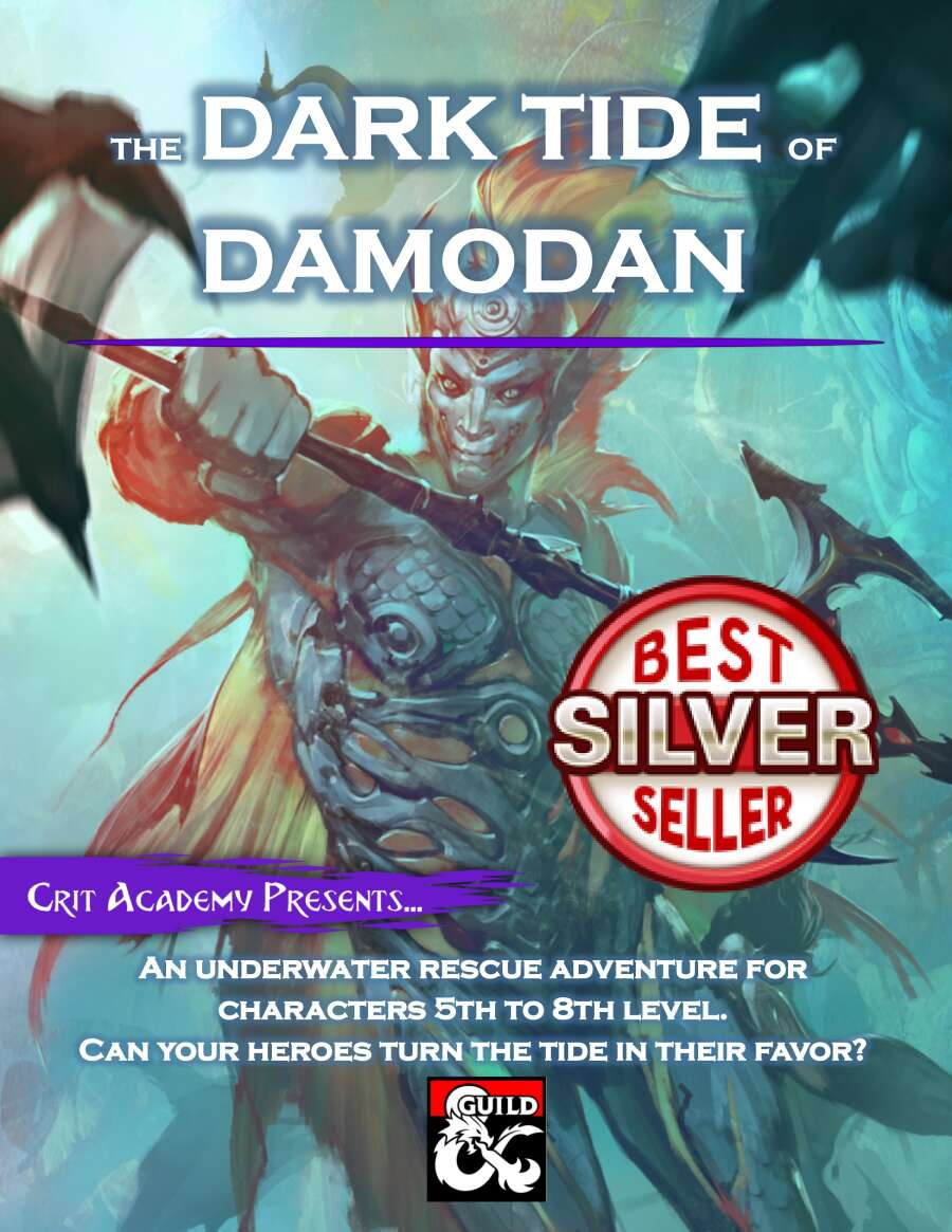 Cover of The Dark Tide of Damodan