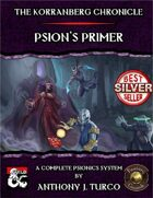The Korranberg Chronicle: Psion's Primer - A Complete Psionics System (Fantasy Grounds)
