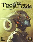 Tools of the Trade: Artificer Options (Fantasy Grounds)
