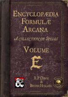 Encyclopaedia Formulae Arcana - E (Fantasy Grounds)