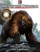 Way of the Owlbear (Fantasy Grounds)