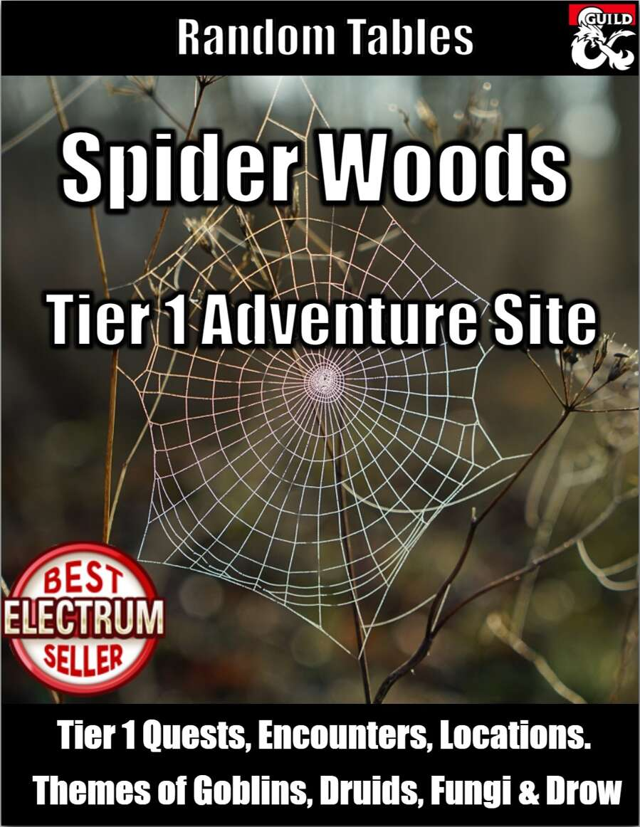 Spider Woods - Tier 1 Adventure Site