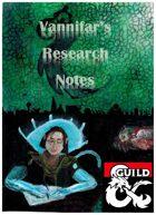 Vannifar's Research Journal: Doublestrike