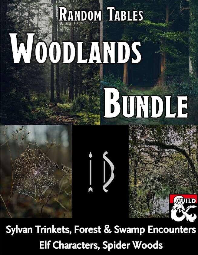 Woodlands Random Tables Bundle