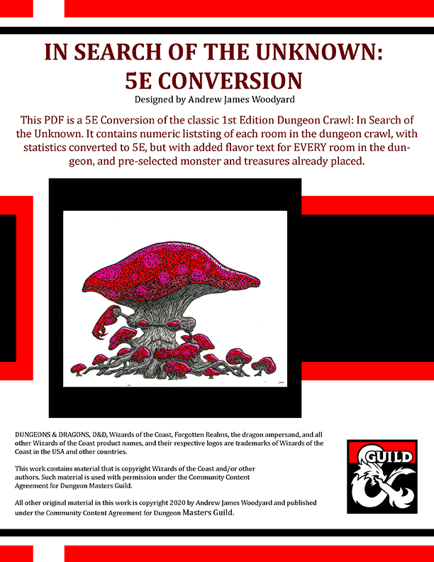 In Search Of The Unknown 5e Conversion Dungeon Masters Guild Dungeon Masters Guild Check out inspiring examples of driftglobe artwork on deviantart, and get inspired by our community of talented artists. usd