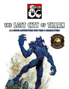 The Lost City of Tharn