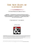 The New Dawn of Lastkeep