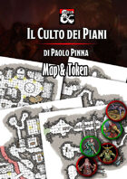 D&D5e Il culto dei piani Roll 20 (Mappe e Token)