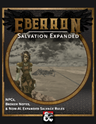 Eberron: Salvation Expanded