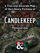 Candlekeep Map - Personal Use