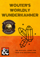 Wouter's Worldly Wunderkammer (Fantasy Grounds)